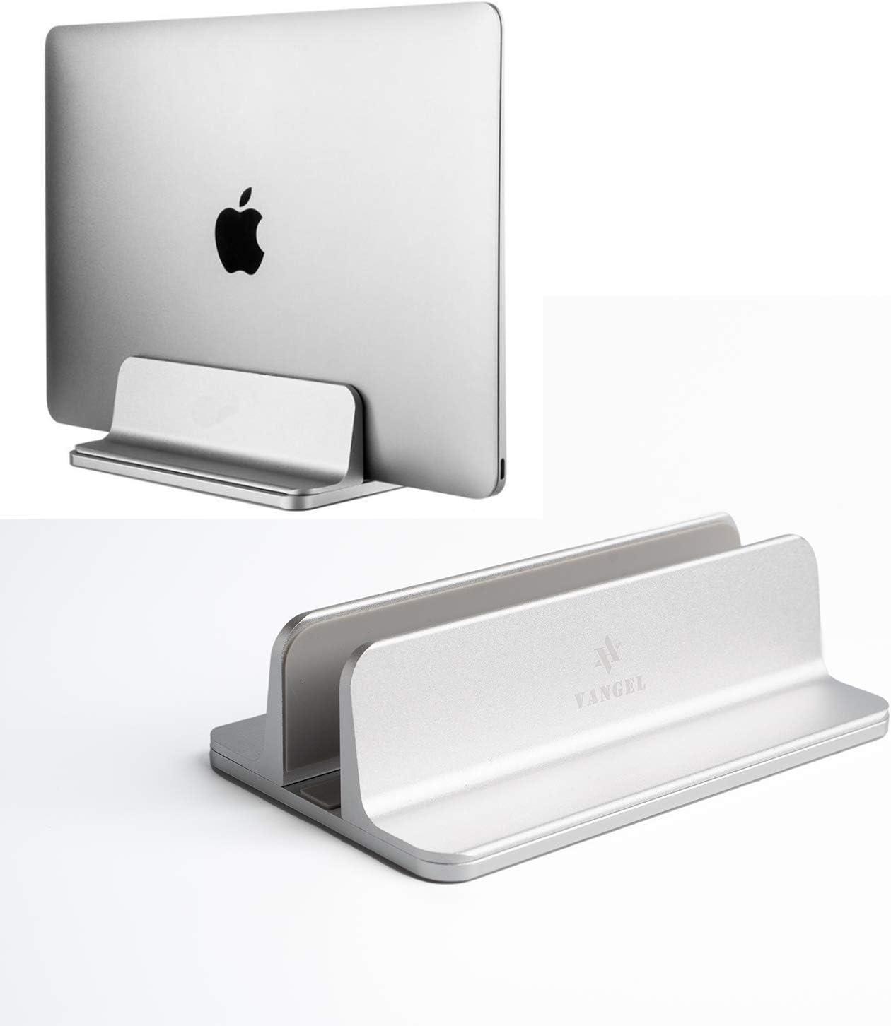 Vertical Laptop Stand for Desktop - Anti-Slip Vertical Docking Station with Adjustable Dock Size - Holds All Under 17