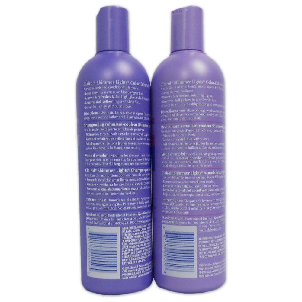 amazon com clairol shimmer lights 16 oz shampoo 16 oz