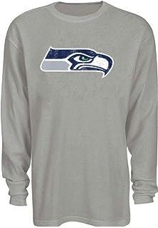 e3a21b9df Seattle Seahawks NFL Mens Long Sleeve Gray Thermal Shirt Big   Tall Sizes