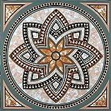 Mosaic Vinyl Floor Tile 20 Pcs Self Adhesive Flooring 12' x 12' size
