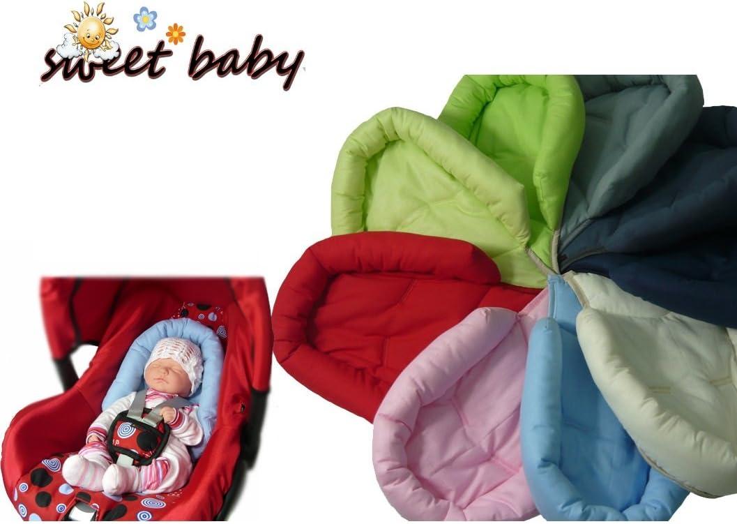 Sweet Baby ** SOFTY ROSA ** Reductor para silla de bebé Maxi Cosi ...