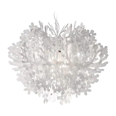 Slamp Lampada a Sospensione Fiorella bianco 48 cm: Amazon.it ...