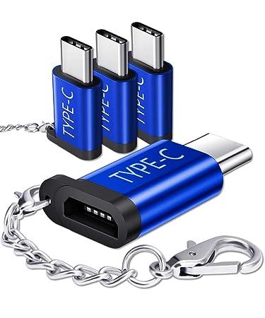 Amazon.com: JSAUX - Adaptador USB tipo C, 4 unidades, de ...