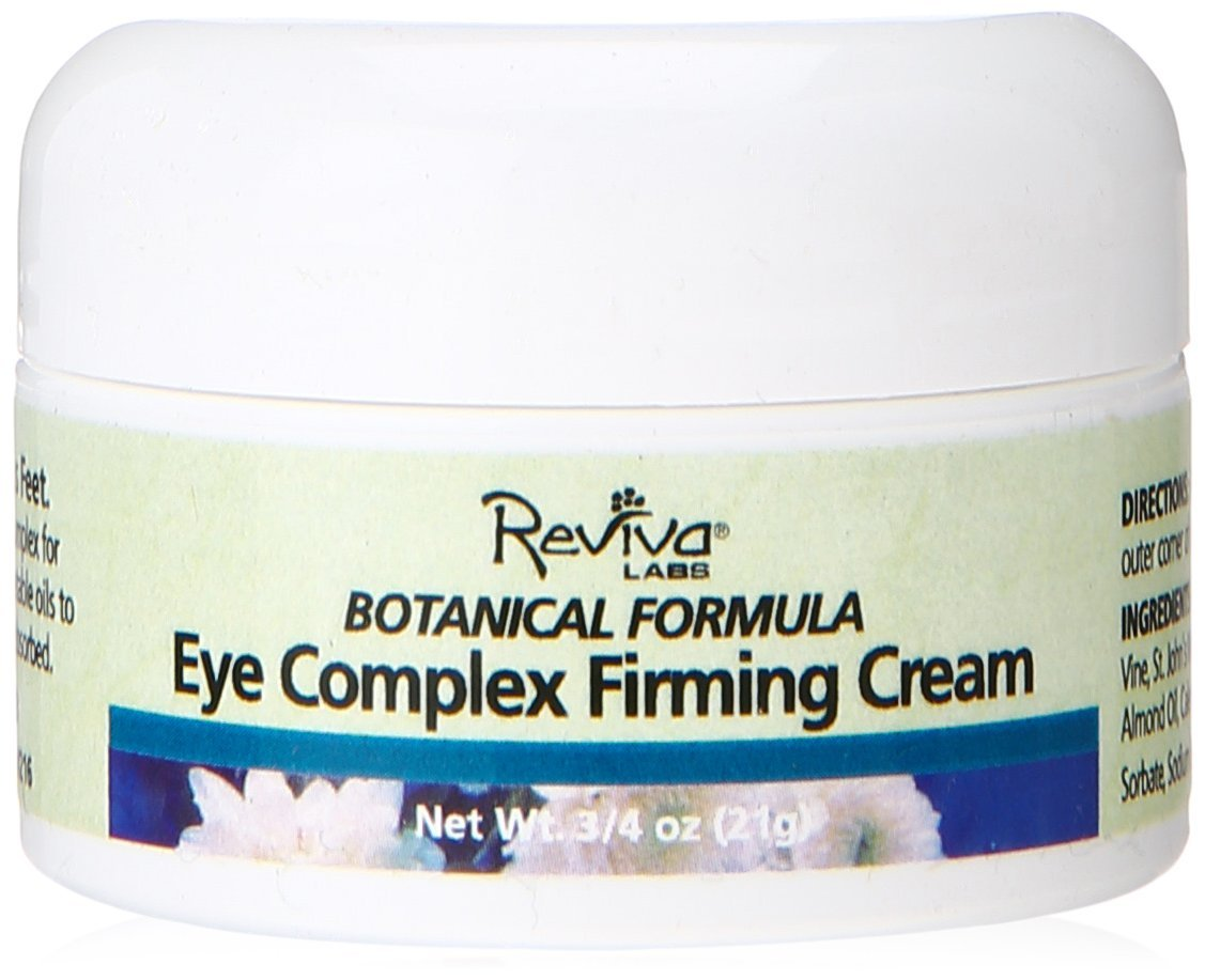 Reviva Labs Eye Complex Firming Cream.75 Ounce - Pack of 2