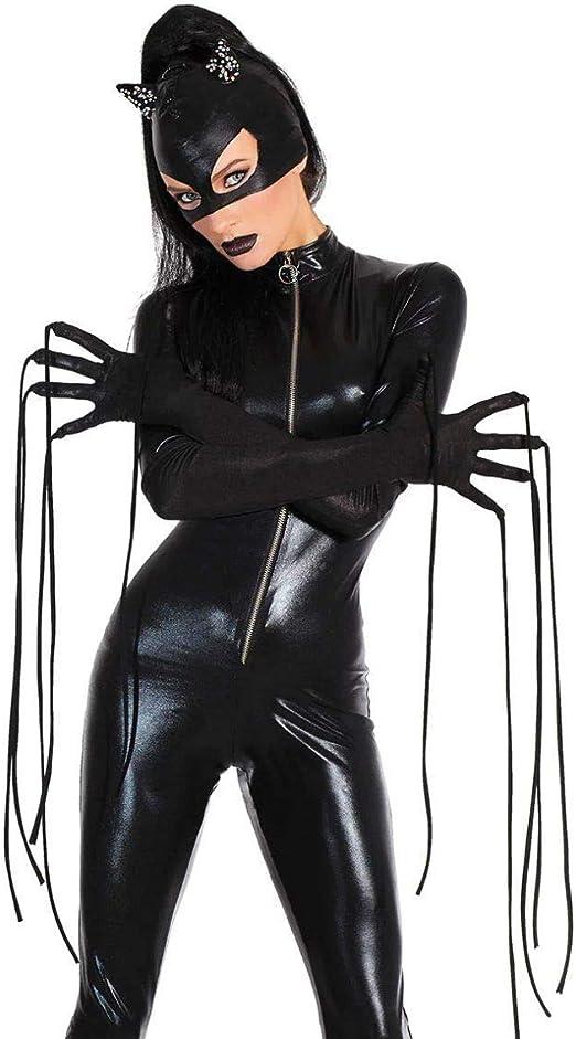 GAOJUAN Disfraz De Halloween Carnaval Adulto Cosplay Cat Girl ...