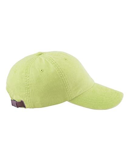 Amazon.com  Adams 6-Panel Low-Profile Washed Pigment-Dyed Cap 39e6c8c86ddd