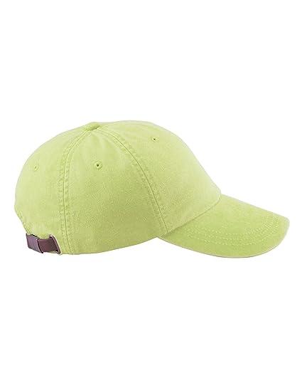 Amazon.com  Adams 6-Panel Low-Profile Washed Pigment-Dyed Cap 20228a956d7e