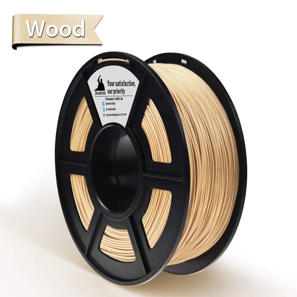 Filamento impresora 3D madera 1.75 mm 1KG xsr