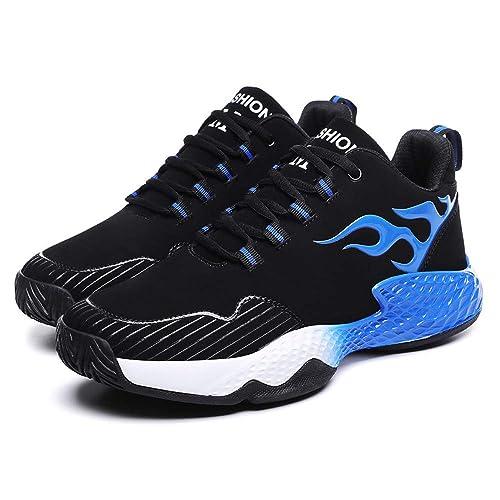 Zapatillas para Correr para Hombre, BOBOLover para Correr Zapatillas de Senderismo para Hombre al Aire Libre Fitness Exterior Antideslizantes Resistentes Al ...