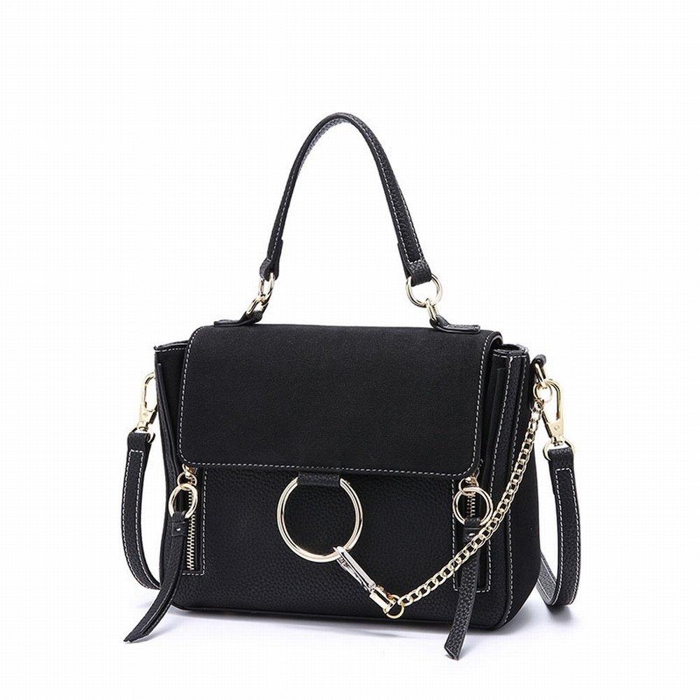 Mode Flügel Tasche Lässig Allgleiches Schulter Diagonal Handtasche Handtaschen Paket , schwarz