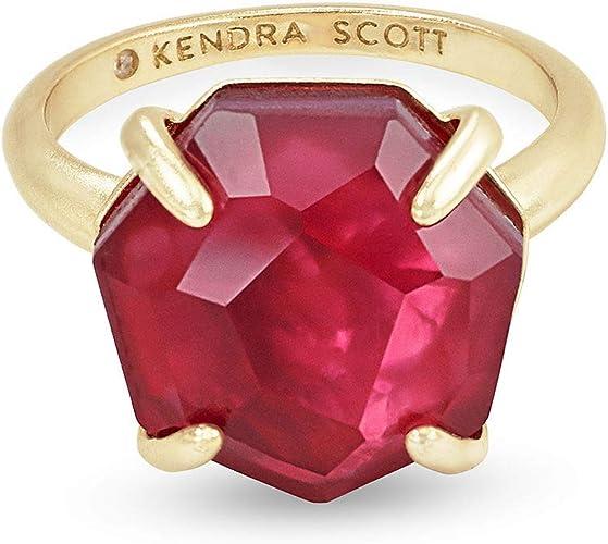 Kendra Scott 14K Plated Ryan Cocktail Ring Women/'s  6