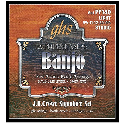 GHS Strings PF140 J.D. Crowe Signature Series (Studio)