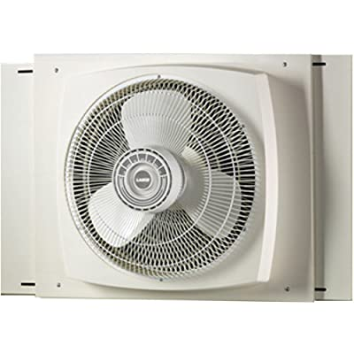 Lasko 2155A Electrically Reversible Window Fan, 16-Inch