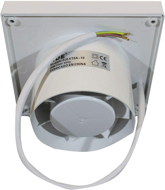 Aireador en pared/de techo Extractor de aire cocina: Amazon.es: Hogar