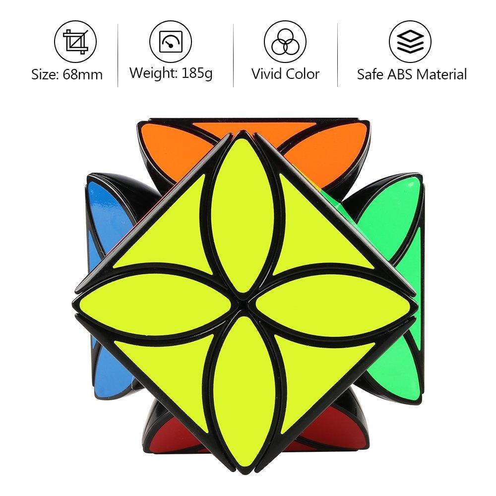 Amazon D Fantix Qiyi Clover Cube Four Leaf Clover Speed Cube