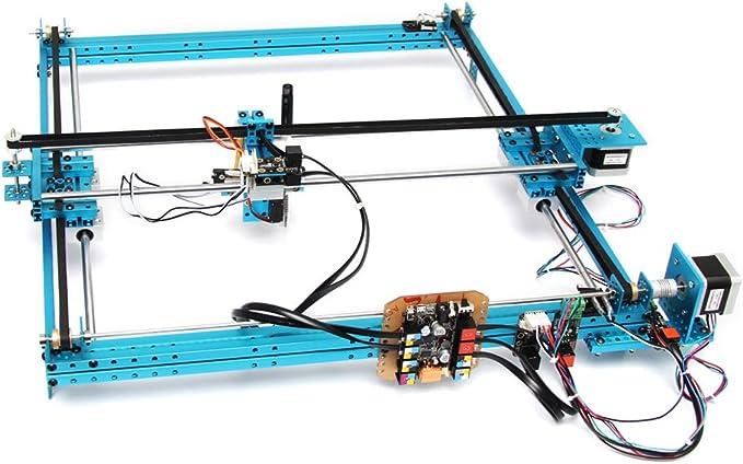 Foxnovo 90014 de XY de Plotter de robot de montar V2. 0 (Azul): Amazon.es: Electrónica