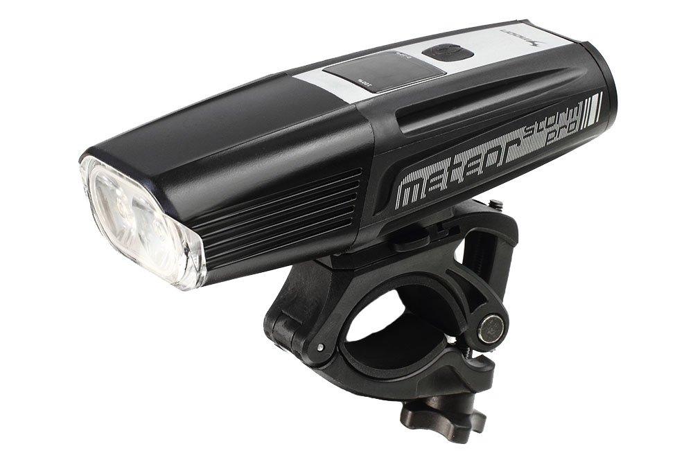 Moon Meteor Storm Pro 1600 Rechargeable Front Bike Light LAA429