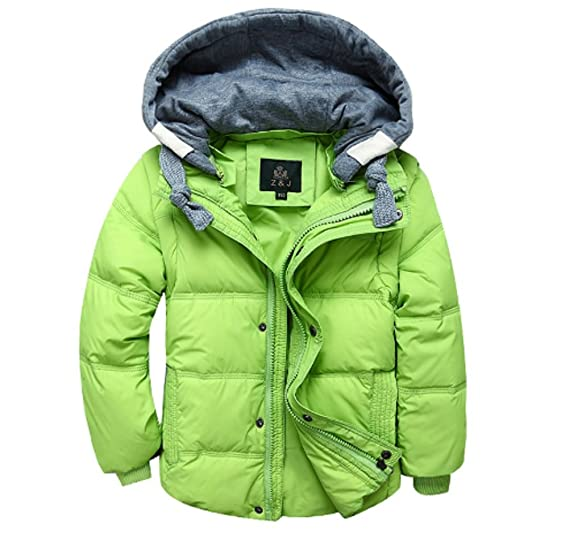 d9ebf965e Koo-T Boys Winter Coat Gilet 2 Way Casual Hood Duck Down Trendy Long ...