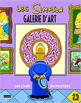 Amazon Fr Les Simpson Galerie D Art Un Grand Livre De