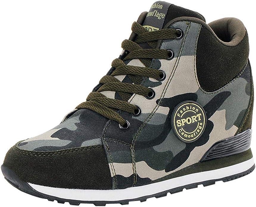 POLP Calzado Zapatos Mujer Cuña Deportivos Zapatillas Running para ...