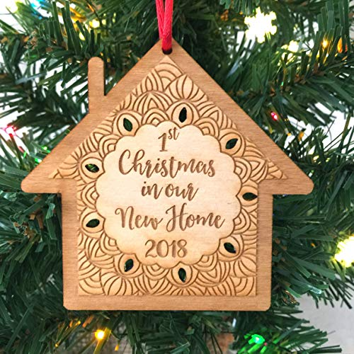 First Christmas in Our New Home 2018 Ornament