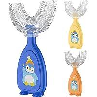 Benoon U-vormige tandenborstel, kinderen tandenborstel handvat 360 ° orale tanden reinigen, food grade zachte siliconen…