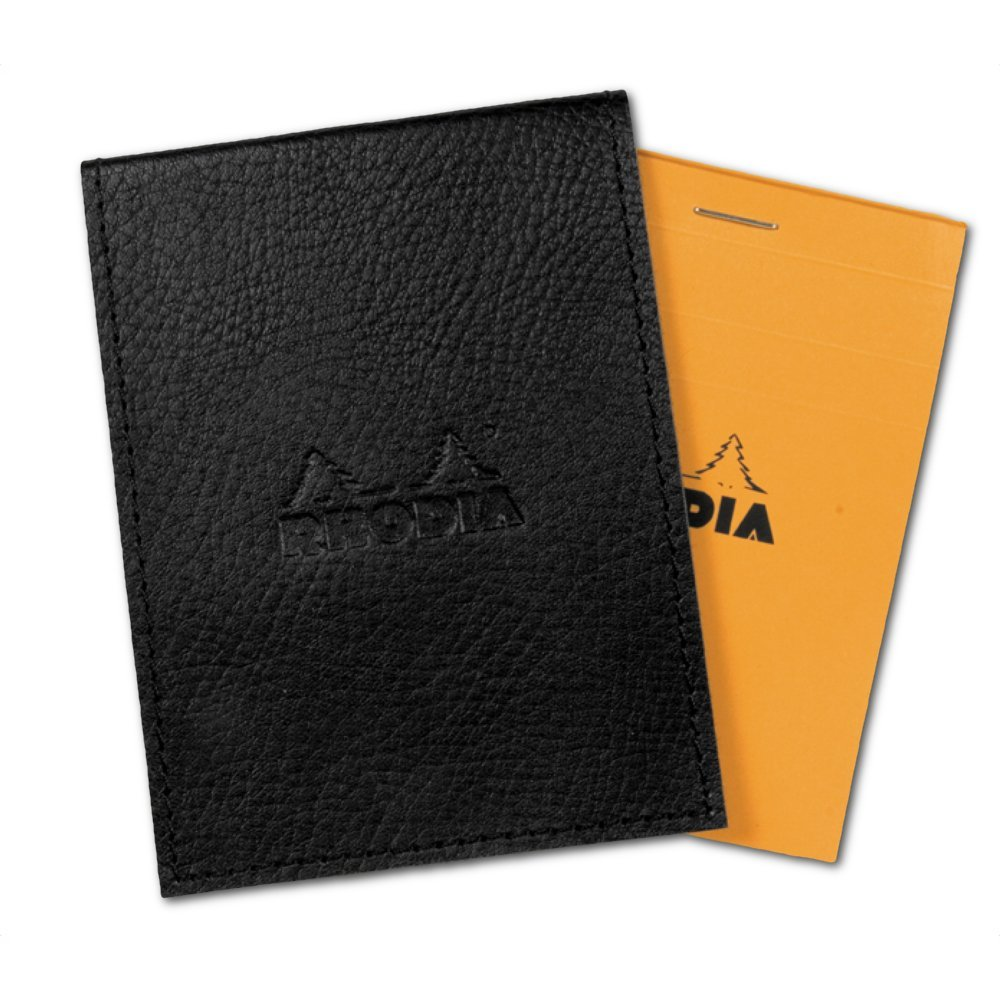 Rhodia Pad Holder And Pad 8.25X11.75 Black