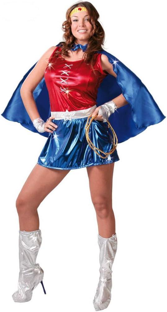Disfraz de Super Woman: Amazon.es: Juguetes y juegos