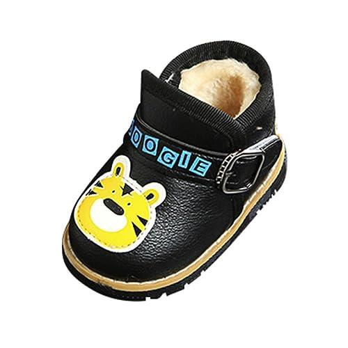 QUICKLYLY Zapatos Bebé Niña Niño con Suela Primeros Pasos Invierno ...