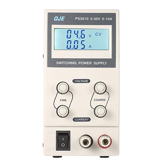 3 opinioni per KKmoon 0-30V 0-10A 3 Cifre Variabile Digitale Regolamentato DC Switching