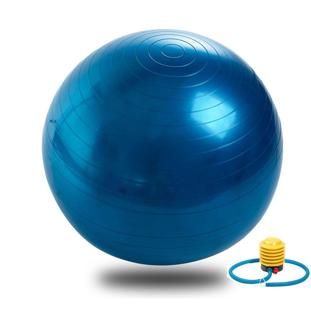 Yoga Ball 65cm protection de l'environnement espesamiento gonflable à essai de Explosion Femmes Enceintes qui font la boule balle de yoga balle de Gym taille : 65cm ) CW