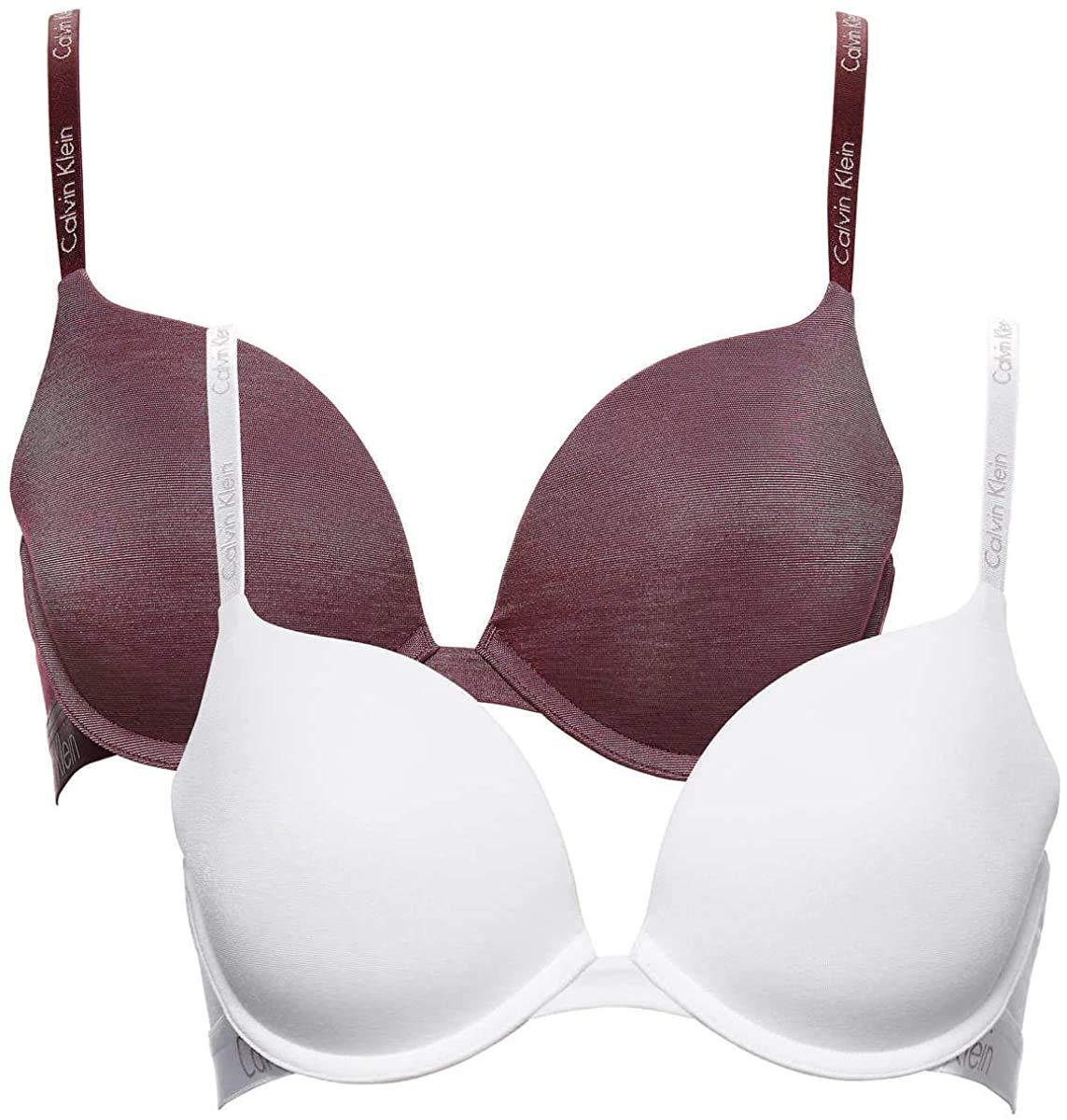 Calvin Klein Underwear Women's 2 Pack Essence T-Shirt Bras