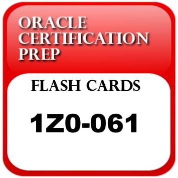 Amazon com: OCPFlash: Flash cards for 1Z0-061 - Oracle