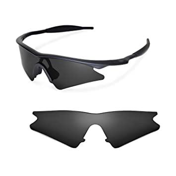 ee2c0114fd3 Walleva Replacement Lenses for Oakley M Frame Sweep Sunglasses - Multiple  Options (Black)