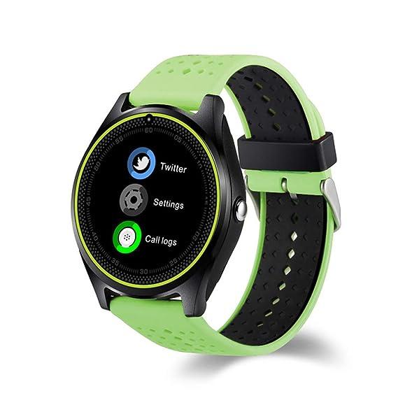Pantalla Smart GPS WiFi Tracker Localizador Reloj Anti-Perdido para Niños Elder Child Student Smartwatch con SOS Remote Monito,Green: Amazon.es: Deportes y ...