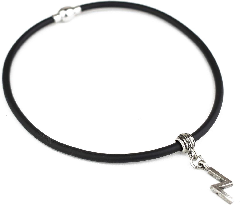 Unisex Wikinger Runen Anh/änger Halsband aus Hartzinn