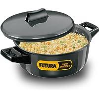 Hawkins/Futura L62 Hard Anodised Cook and Serve Stewpot/Bowl, 2-Liter,Gray,Medium