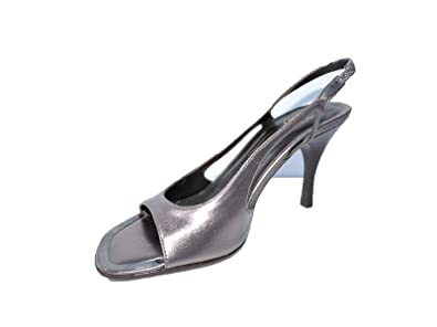 823c8ddcb59 Image Unavailable. Image not available for. Color  Donald J Pliner Womens  Next Metallic Silver Leather ...