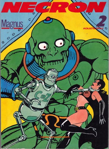 Necron 2 November 1990 Adult Comic (Magnus! First Catalan Communications Edition!)