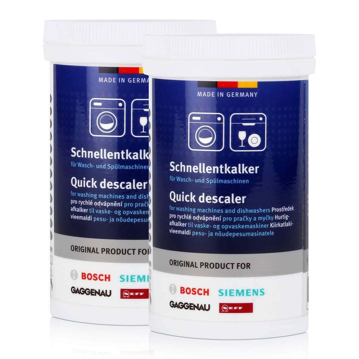 2 x BSH schn cocido antical 250 g - Descalcificador para lavadora ...