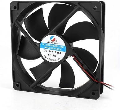 DC 24V 0.35A 120 mm Conector de ventilador de refrigeración para ...