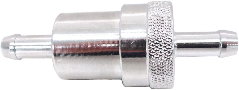 EMGO Inline 5//16 Fuel Filter Chrome Honda GL 1000 1100 1200 Goldwing