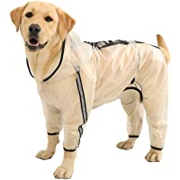 C//N Abrigo para Perros con arn/és Chaqueta Impermeable para Perros Chaleco c/álido Abrigo de Invierno para Perros con Tiras Reflectantes para Perros peque/ños medianos Grandes