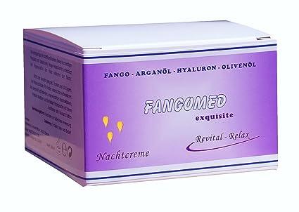 Fango Noche Crema 100 ml, para piel sensible – Seca con barro, ácido hialurónico