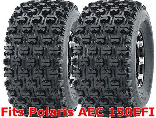 Set 2 WANDA Sport ATV Tires 22x10-10 Polaris AEC 150EFI Rear GNCC Race