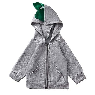 Ropa Bebe Otoño Invierno, ASHOP Sudadera con Capucha Bebe Jacket Outerwear Chaquetas de Bebe Invierno en Oferta Desigual Abrigo niño: Amazon.es: Ropa y ...
