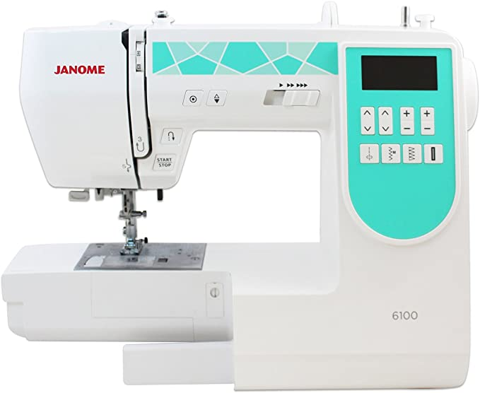 Janome 6100 Máquina de coser computarizada: Amazon.es: Hogar