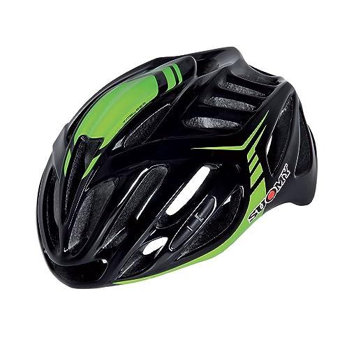 Suomy casque vélo Timeless noir/vert taille l (Casques VTT et route)/Road Helmet Timeless Black/Green Size L (VTT and Road Helmet)