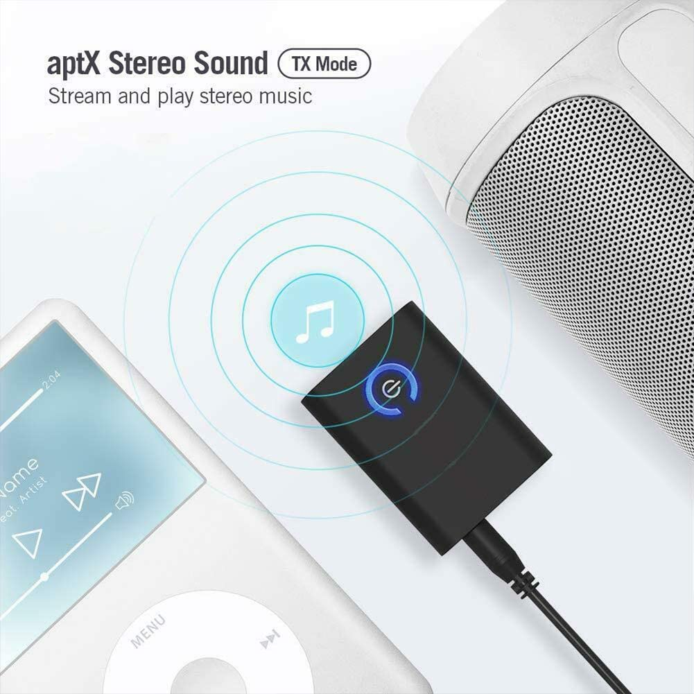 Leoie 2-in-1 Wireless Bluetooth 5.0 Transmitter and Receiver