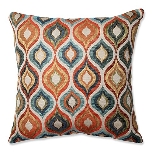 Pillow Perfect Flicker Jewel Throw Pillow, 18-Inch